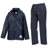 Jnr Heavyweight Waterproof Jacket/Trouser Suit
