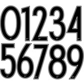 Nike Official Teamwear Number SETs