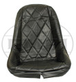 00-3880-0 LOW BACK SEAT COVER,BLACK (EA)