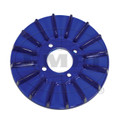 00-8927-0  FINNED PULLEY COVER, BLUE