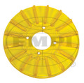 00-8928-0  FINNED PULLEY COVER, GOLD/YELLOW