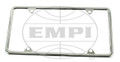 15-2050-0   CHROME LICENSE FRAME