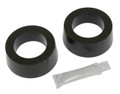 "B6-5882-2  ROUND TYPE GROMMETS, 1-7/8"" LARGE O.D. IRS, PR (BLK)"