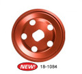 18-1084-0  BILLET ALUMINUM 12-VOLT ALT/GEN PULLEY, RED