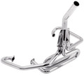 00-3458-0  OFF-ROAD COMPETITION EXHAUST SYSTEM (CHROME) 1 1/2 (SHIPS FREE TO THE LOWER 48 STATES)