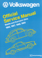 11-0701-0   VW TECH BOOK, Type 1, 66-69