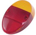 98-1074-0 TAIL LIGHT LENS, L/R, 62-67, EURO STYLE (EA)