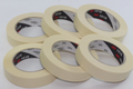 6 x Rolls Of Scotch / 3M 2120 Paper Masking Tape, 25mm x 50m, No Residue
