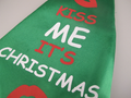 Jumbo / Large Padded Christmas Fun Tie Kiss Me It's Christmas One Size Fits All