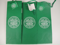 3 x Glasgow Celtic Football Club 1888 Bottle Gift Bag With Gift Tag & Green Rope