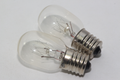 2 x Toshiba 120V  15W E14 Pygmy High Temperature Microwave Oven Lamps Bulb