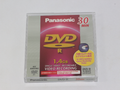 Panasonic 1.4GB DVD-R 8cm 30 Minute Video Recording Camcorder Disc & Holder