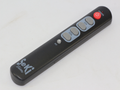 Seki Slim Black Universal Easy To Use Large Buttons Learning Remote Control