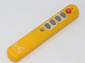Seki Slim Yellow Universal Easy To Use Large Buttons Learning Remote Control