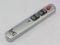 Seki Slim Silver Universal Easy To Use Large Buttons Learning Remote Control