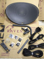 Raven Quad 4 Output Satellite Dish Kit. Sky, Freesat, Polsat, Hotbird, Astra