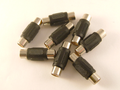 Phono RCA Coupler Adaptor Joiner 8 Pack