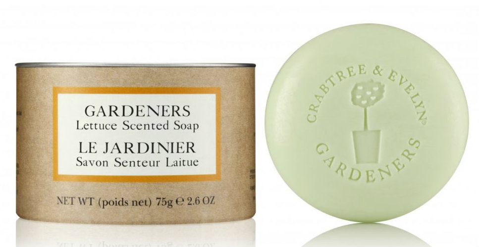 lettuce soap from crabtree & evelyn