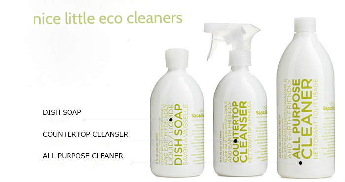 sapadilla rosemary+peppermint eco cleaners