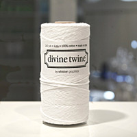 New! Bakers Twine - White
