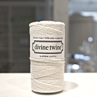 New! Bakers Twine - Ivory
