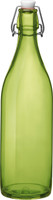 Lime Green Glass Bottle