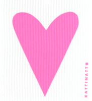 Heart Pastel Cerise