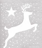 Snowy Reindeer