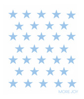 Small Light Blue Stars
