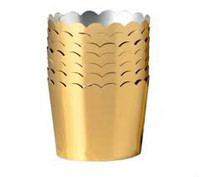 Petit Paper Baking Cups Gold