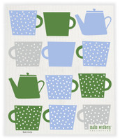 Evening Tea Blue Green - New!