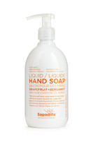 Sapadilla Hand Soap Grapefruit + Bergamot