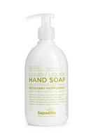 Sapadilla Hand Soap Rosemary + Peppermint