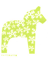 Dala Horse Green - New!