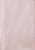 Red Ticking Stripe Tea Towel
