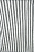 Black Ticking Stripe Tea Towel