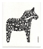 Black Dala Horse - New!