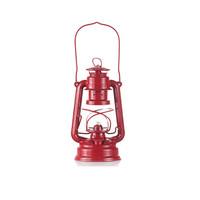 Red Kerosene Lantern