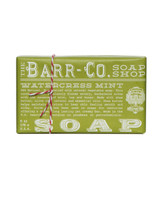 Barr Co.Watercress Mint Triple Milled Bar Soap - New!