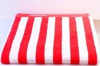 Marimekko Nimikko Red Bath Towel