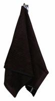 Marimekko Ilta Brown-Black Bath Towel