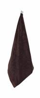 Marimekko Ilta Brown-Black Guest Towel