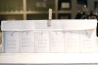 Place des Lices - White Ceramic Pendants Set Of 6