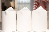 White Ceramic Salt Crock