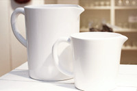 White Ceramic Jug  Small