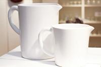 White Ceramic Jug  Small