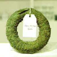 Real Moss Wreath