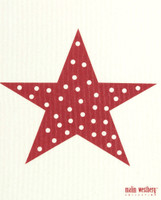 Red Polka Dot Star