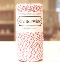 Bakers Twine -  Original Cherry & White