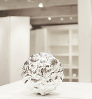 Silver Sea Shell Ball - Small